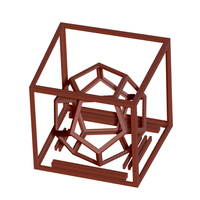 Small Cool 3d dodecahedron 3D Printing 115984
