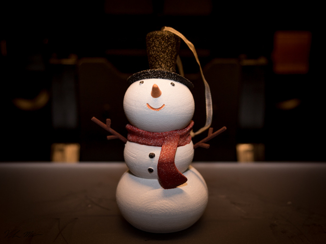 Snowman Christmas Ornament 3D Print 115998