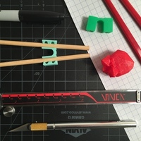 Small Chopstick Helper 3D Printing 116068