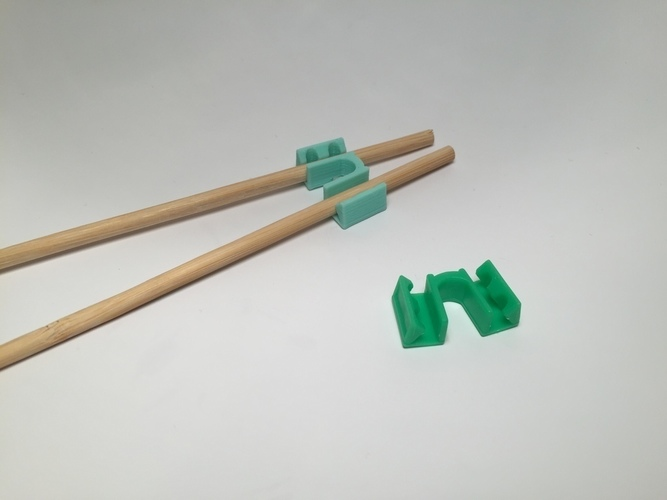 Chopstick Helper 3D Print 116072