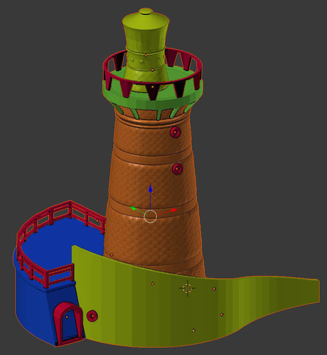 Lighthouse Cartagena Colombia 3D Print 116108