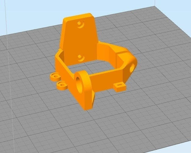 MK8 Extruder Mount with Sensor for Sintron prusa i3 3D Print 116120