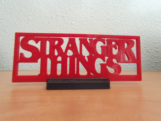 Stranger Things one piece 3D Print 116142