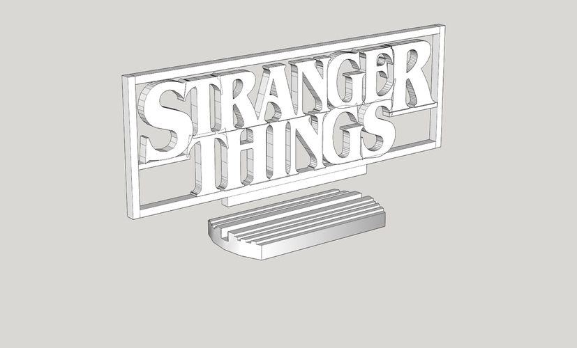 Stranger Things one piece 3D Print 116143