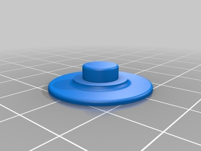 FASTER fidget spinner for people with short fingers (v2) 3D Print 116148
