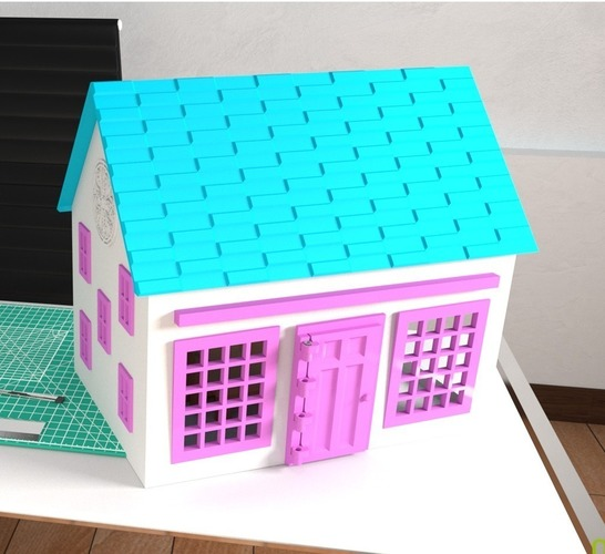 Small Playhouse 3D Print 116152