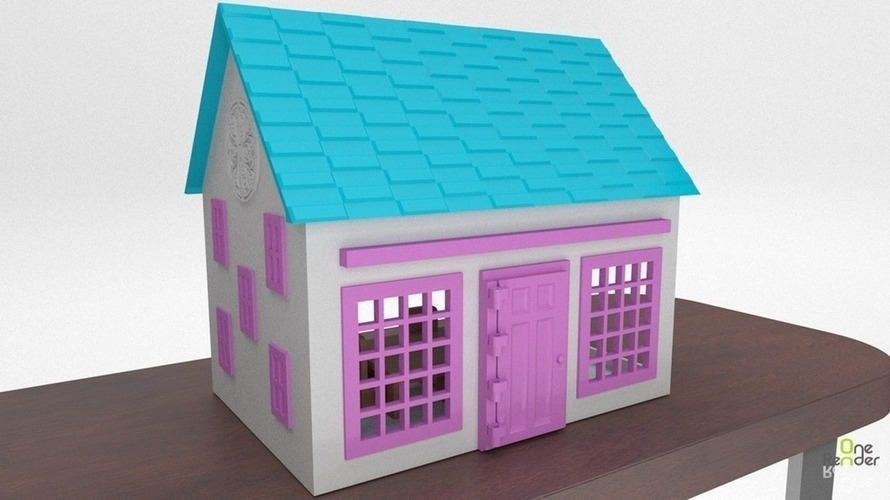 Small Playhouse 3D Print 116153