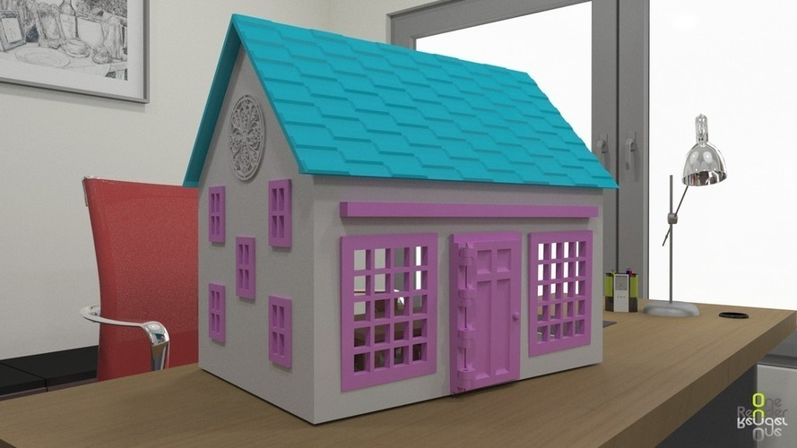 Small Playhouse 3D Print 116156