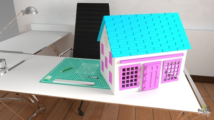 Small Playhouse 3D Print 116157