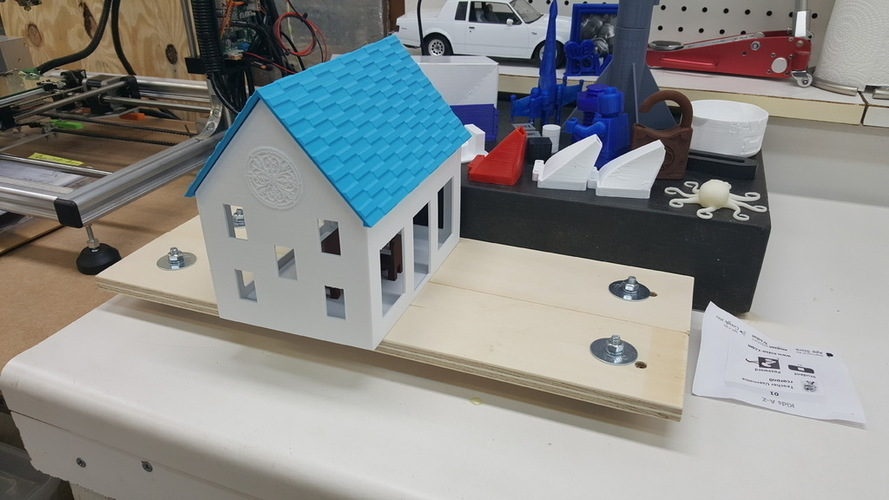 Small Playhouse 3D Print 116163