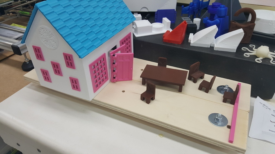 Small Playhouse 3D Print 116165