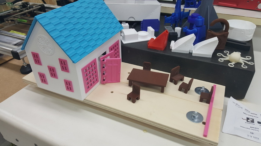 Small Playhouse 3D Print 116166