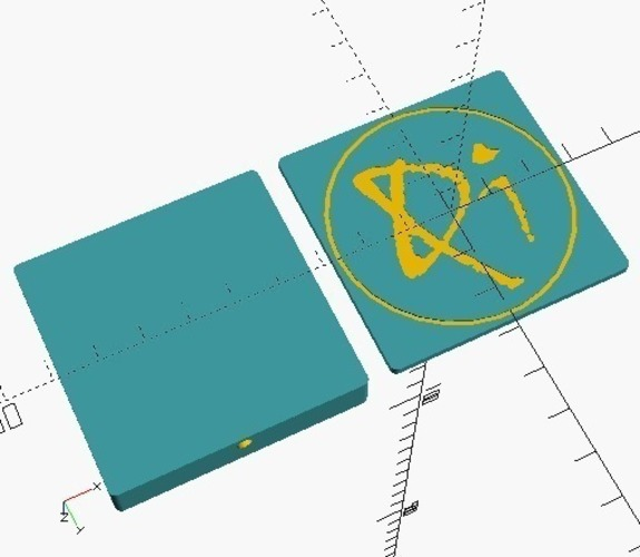 Small Qi charger box 3D Print 116241