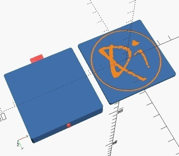 Small Qi charger box 3D Print 116242