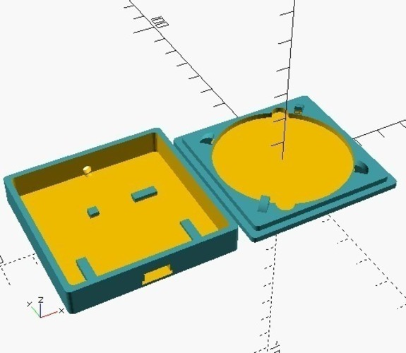 Small Qi charger box 3D Print 116243