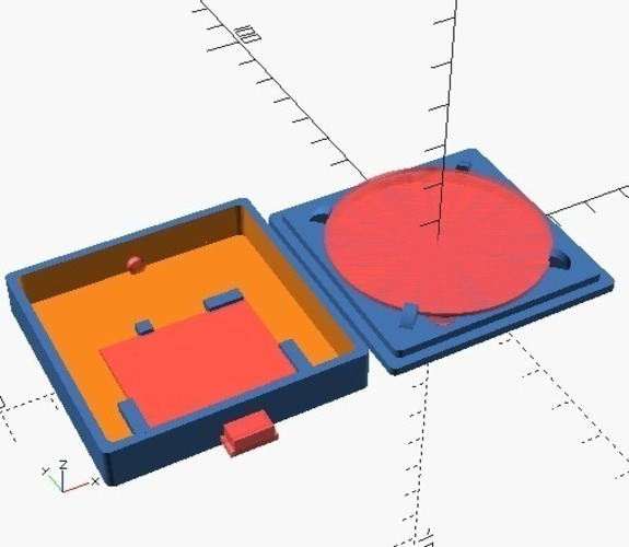 Small Qi charger box 3D Print 116244