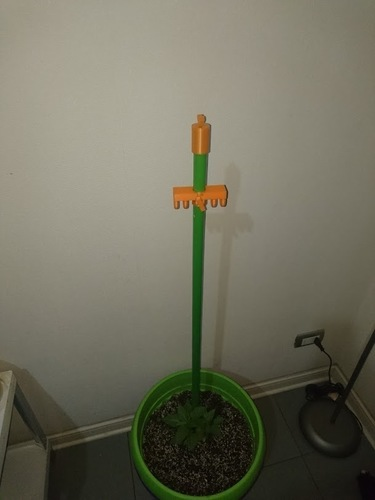 Plant Tutor with height adjustable 3D Print 116256