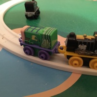 Small Miniture Thomas Train Track 3D Printing 116298