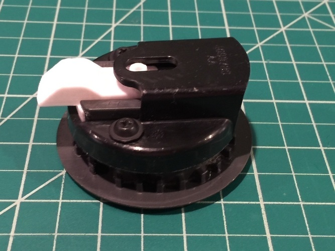 Chrysler Town and Country Stow 'n Go Latch 3D Print 116300