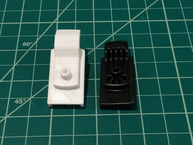 Chrysler Town and Country Stow 'n Go Latch 3D Print 116304