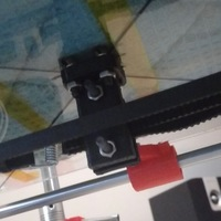 Small Y Axis Belt Clamp 3D Printing 116329