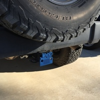 Small Jeep Hitch Cover - Fixed 3D Printing 116371