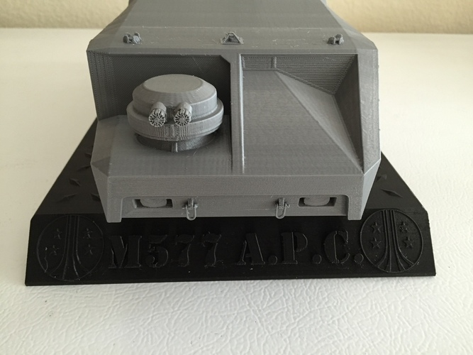 "Stand for APC (Scaled to 15"" long) 3D Print 116377"