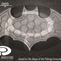 Small Bat Logo 3D Printing 116399