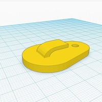 Small Picture Hanger/Wall Hanger 3D Printing 116446