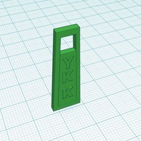 Small Zipper 3D Printing 116449