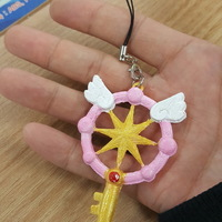 Small Cardcaptor Sakura Clear Card Magic Key 3D Printing 116543