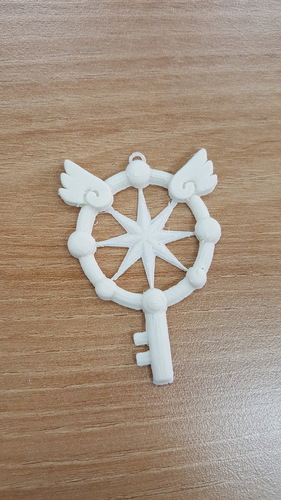 Cardcaptor Sakura Clear Card Magic Key 3D Print 116546