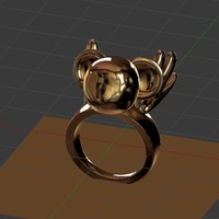 Small Kero Ring 3D Printing 116565