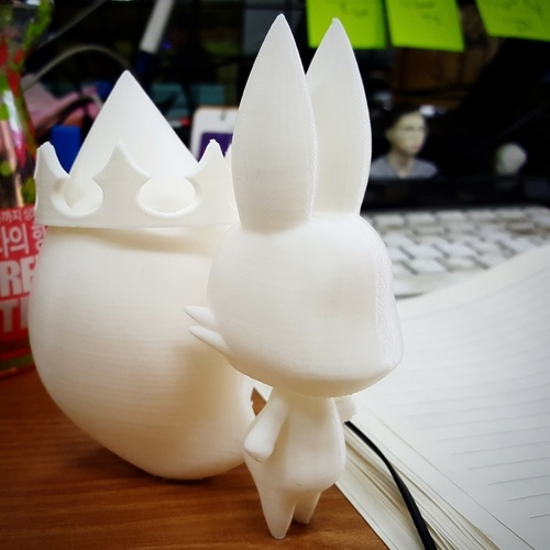 Tama in World of Final Fantasy 3D Print 116571