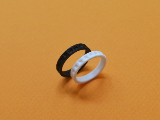 product by ring printed michaelmueller bellyn steel stainless rings