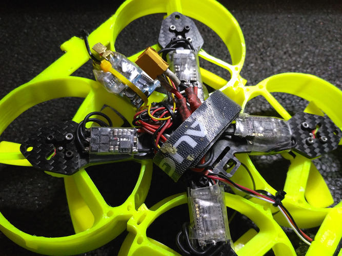 Maxi whoop x130 conversion kit 3D Print 116604