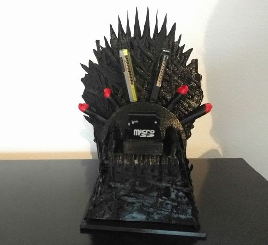 Game of Thrones USB throne 3D Print 116672
