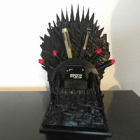 Small Game of Thrones USB throne 3D Printing 116672