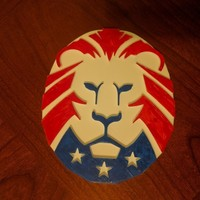 Small Trump Lion 3D Printing 116681