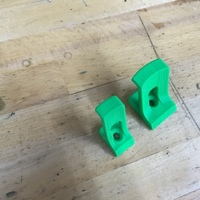 Small wall_hook 3D Printing 116704