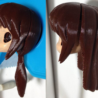 Small RO Hair 4 & 5(Pinky ST.) 3D Printing 116713