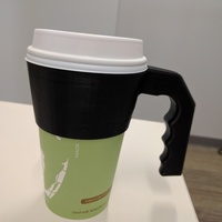 Small Paper Cup Handle 3D Printing 116717