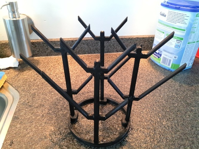Baby bottle drying rack 3D Print 116786