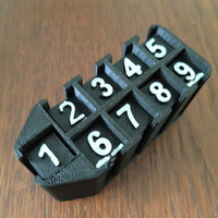Small Sudoku number storage 3D Printing 116788