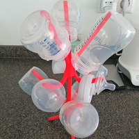 Small Baby Bottle Drainer 3D Printing 116789