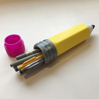 Small Pencil pencil case 3D Printing 116813