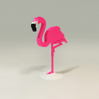 Small Flamingo 3D Printing 116826