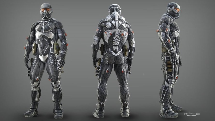Crysis PS3 nanosuit  3D Print 116901