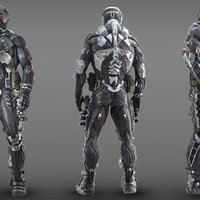 Small Crysis PS3 nanosuit  3D Printing 116901