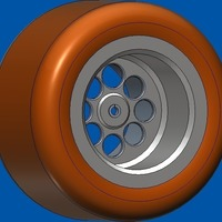 Small wheels , for your design  3D Printing 116928